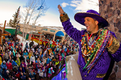 Mardi Gras at Snowmass