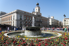 Plaza Puerta del Sol in Spain